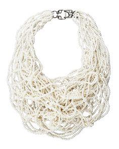 Vera Wang Multi-Strand Pearl Necklace