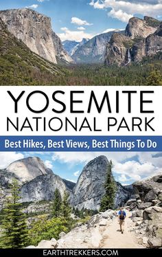 Best hikes, including Half Dome, the Mist Trail, and Yosemite Point. Where to get the iconic views and so much more. California National Parks, Visit California, National Parks Usa, Yosemite National Park, California Travel, Yosemite California, Cool Places To Visit, Places To Travel, Travel Destinations