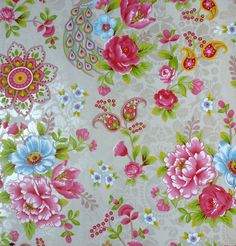 Pip Studio Flowers in the mix khaki wallpaper