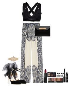 """""""NYC"""" by marbear263 ❤ liked on Polyvore featuring Etro, Y.A.S, Jimmy Choo, Balenciaga, Rolex, NARS Cosmetics, women's clothing, women's fashion, women and female"""