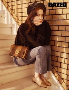Yoona was chosen for the cover of Dazed Volume 106 and we think she looks amazing. Showing various styles of Ferragamo handbags, in one shot she looks like a trouble-maker but in another she looks … Marie Claire, Korean Photo, Yoona Snsd, Asian Celebrities, Tumblr Girls, Korean Beauty, Asian Beauty, Girls Generation, Super Junior