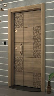 New flush door design modern ideas Door Design Interior, Wooden Front Door Design, Doors Interior, Room Door Design, Entrance Design, Front Door Design