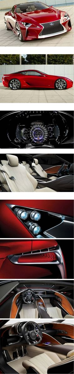 Lexus Hybrid LF-LC - Via @LexusABQ Pinterest I need you to give me a good deal. you can take my Jag!!!