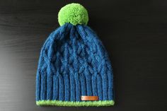 winter hat by ussuriknits on Etsy