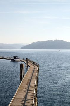 Lake Coeur d'Alene - Idaho. Kristyn, you said kayaking, and now I'm interested! haha