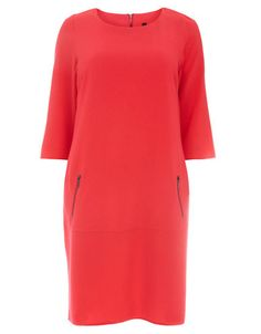 Brands   Dresses   Plus Pink Zip Pocket Dress   Hudson's Bay