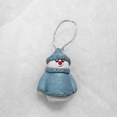 Cute snowman christmas tree Decoration  Snowman by Wishcraft2013, £2.65