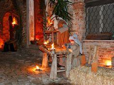 La bottega del falegname nel presepe vivente di Altidona (FM)  © Pro Loco di Altidona