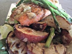 Here is the recipe and technique I use to make my Grilled salmon, potato and asparagus salad with HOMEMADE Caesar dressing. Yes, you CAN make this! Delicious and easy, treat yourself soon and Bring More Life To Your Table!