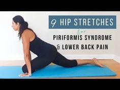 Piriformis Stretch - YouTube