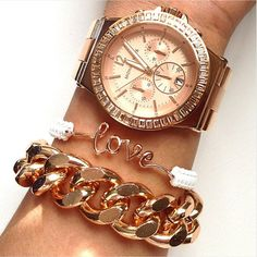 #Michael Kors gonna tell #kikijabrijewels to make this love bracelet