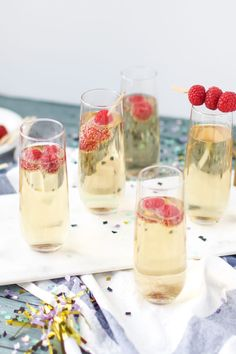 Mock-Champagne for your New Years Toast! {Non-alcoholic}  Ginger ale overpowered white grape juice.  Overall, too sweet.  Maybe add some club soda next time?