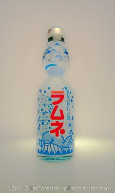 Ramune is a Japanese soda that comes in different flavors and I have actually have had it :) it is delicious and my favorite is original and strawberry!