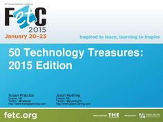 Presentation shared at FETC 2015. Web sites, iPad and Google apps shared! Something for every teacher to use!