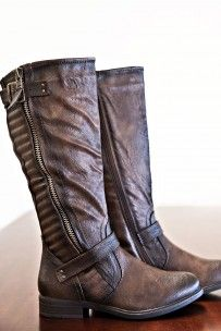 Step It Up Boots- Brown
