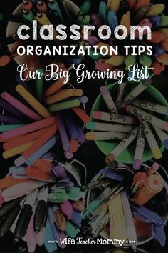 Get classroom organization tips, ideas, and hacks from this growing blog post written by an elementary teacher. She shares her favorite finds on Amazon that will help you with storage for student materials, classroom supplies, and paper organization. You'll find ways to set up your classroom, organize teaching resources, and more! This is a must read for back to school! #classroomorganization #backtoschool #organizedclassroom