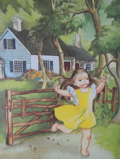 Eloise Wilkins  One of my favorite pics from a little golden book I loved