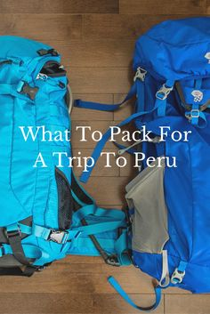 Packing is a tricky thing so I've compiled a detailed list of everything you want to pack for Peru, the Inca Trail and the Amazon jungle. via @goawesomplaces
