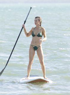Joanna Krupa Cameltoe & Pokies in the Surf on TaxiDriverMovie.com
