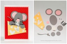 so cute Stampin' Up Punch Art