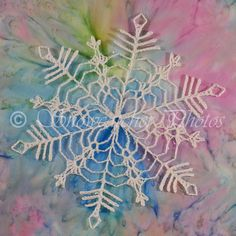 FREE PATTERN ~ Bamboo Snowflake ~