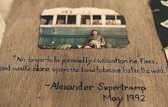 Find images and videos about into the wild and christoper mccandless on We Heart It - the app to get lost in what you love. Writing Quotes, Movie Quotes, Book Quotes, Pulp Fiction, Alex Supertramp, Christopher Mccandless, Wild Quotes, Famous Author Quotes, Wild Tattoo