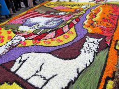 Una de las alfombras más bellas y con más detalles