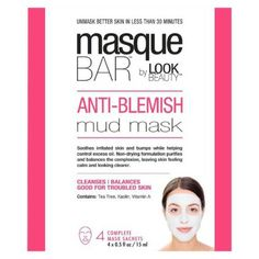 This mask doesn't have the harsh medicines of other acne masks and is alcohol free so it wont dry out your skin!