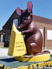 Big Cheese Mouse, Wilson's Cheese Shop, Pinconning, MI