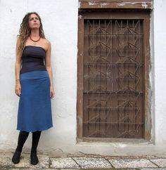 Gaia Conceptions  Simplicity Below Knee Fleece Skirt
