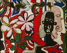 original modern art outsider art oil painting,cubist art,abstract art,picasso inspired art,bright painting,colourful wall art,tropical art Bright Paintings, Modern Art Paintings, Outsider Art, Cubist Art, Abstract Art, Colorful Wall Art, Tropical Art, Exotic Flowers, Art Google
