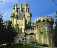 Butron Castle. Vizcaya. Spain