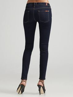 7 for All Mankind Skinny Stretch Jeans