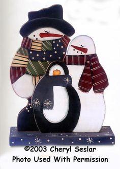 000382 (3) Snow Pals Sets-