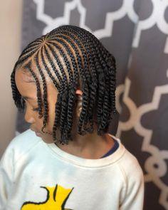 Cute Little Girl Hairstyles, Black Kids Hairstyles, Little Girl Braids, Sporty Hairstyles, Natural Hairstyles For Kids, Baby Girl Hairstyles, Kids Braided Hairstyles, Braids For Kids, Cornrow Hairstyles Natural Hair