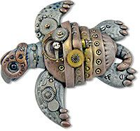 Friesen's polymer and steampunk | Polymer Clay Daily