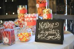 Wedding Candy Buffet coral - Bing Images