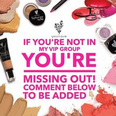 Join my VIP group! Learn product info, application tips and tricks and learn about our sales and specials!