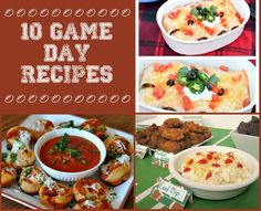 Get Ready for Game Day with these Recipes