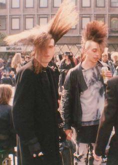 #goth #gothic #postpunk #punk #mohawk #bighair #alt #alternative #subculture #male #guys #hot #OriginalGothic #OG #1980s