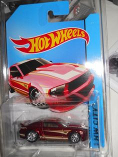 Hotwheels 2014 Super Treasure Hunt 07 Ford Mustang Free USA SHIP ...