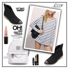 """yoins"" by ajsajunuzovic ❤ liked on Polyvore featuring MAC Cosmetics"