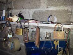 Entre candados y la llave perdida