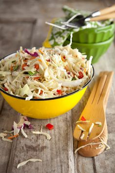 Paula Deen Peppery Coleslaw with Orange Chili Vinaigrette