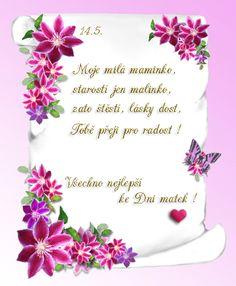 přání pro maminku k svátku Přání ke Dni matek | Den matek | Pinterest | European countries  přání pro maminku k svátku