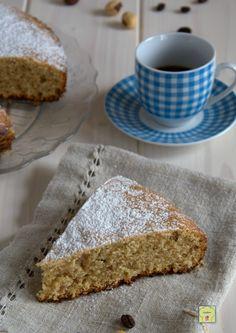 torta nocciole e caffè