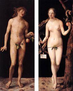 Durero. Adan y Eva. 1510