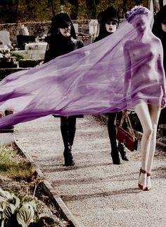 nomecalles:    Juliet Ingleby by Sebastian Faena, CR Fashion Book #1