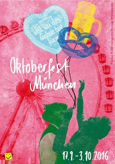 Das neue, offizielle Plakat zum Oktoberfest 2016 - The official poster of the Munich Beerfestival #missha #misshagermany #oktoberfest #wiesn #2016 #tz #wiesnmadl #koreanischekosmetik #koreanskincare #misswahl #münchen #bewerbung #wiesnfrisuren #frisuren #wiesnmakeup #makeup