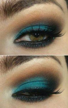 Queen Chrysalis eye makeup